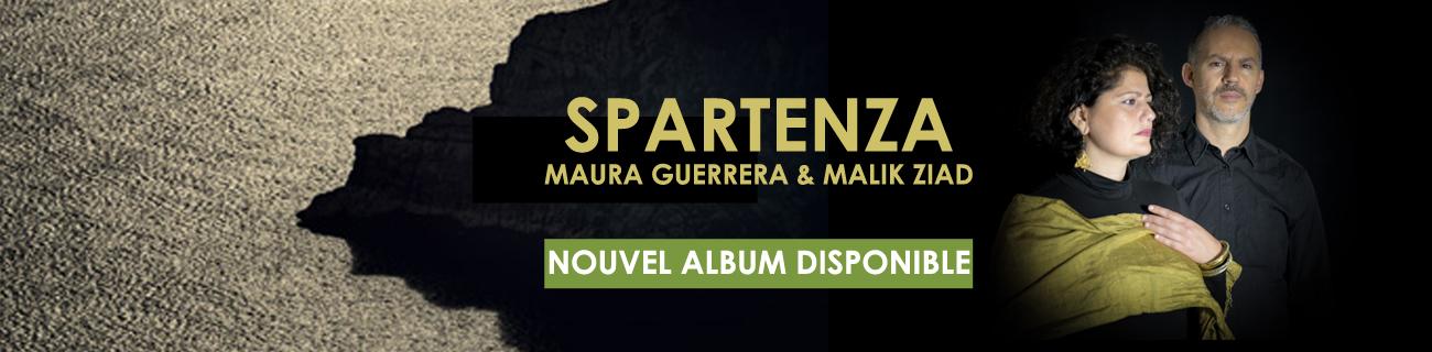 Disque Spartenza - Promotion album - Maura Guerrera et Malik Ziad