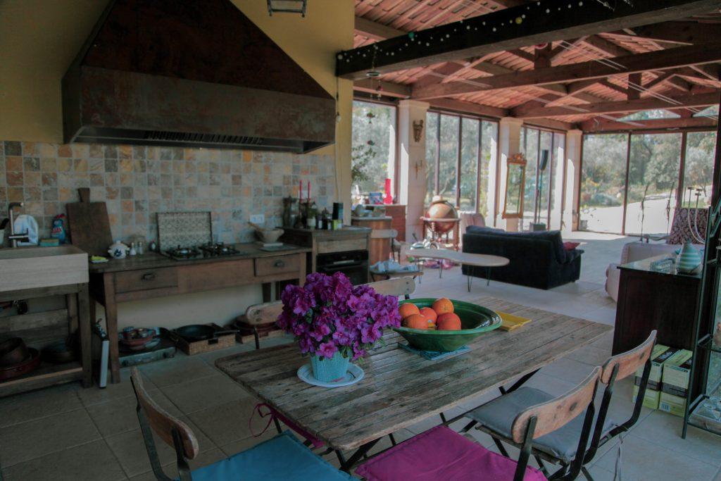 Cuisine partagée et espace commun